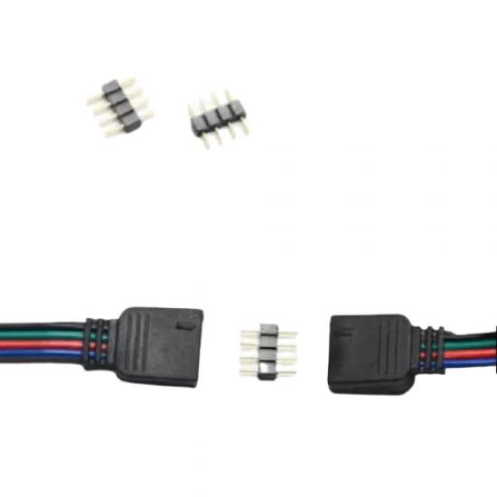 CONECTORI 4 PINI, RGB